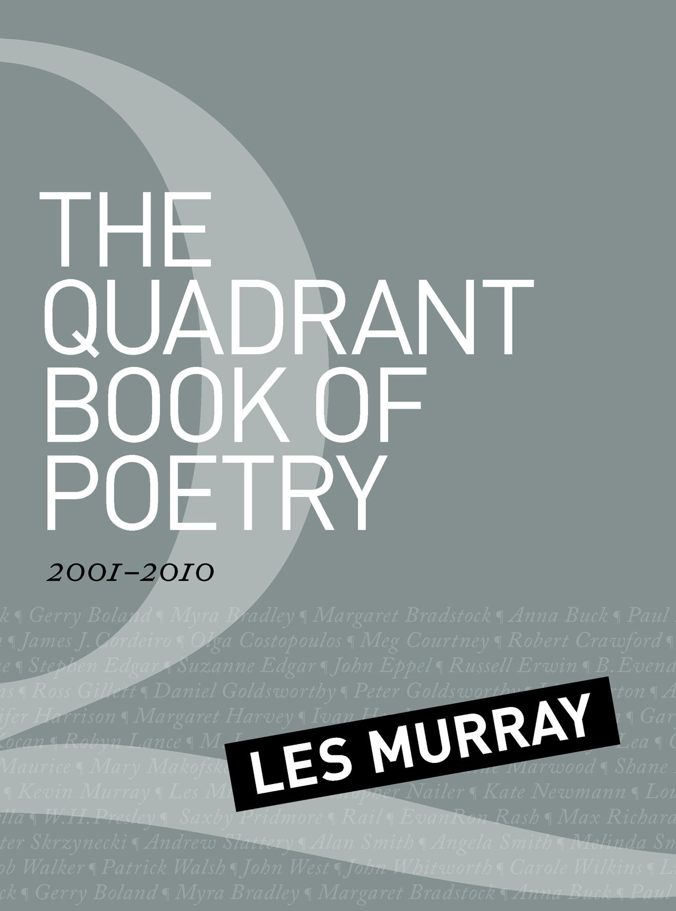 les murray poetry essay
