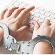 handcuffed typing