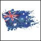 aust flag frayed