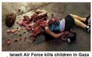 dead plastic palestinian