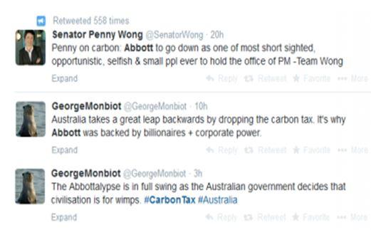 carbon tweets