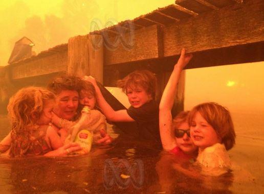 bushfire family