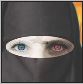 red eye burqa