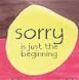 sorry start