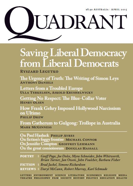 quadrant April 2015 cover contents