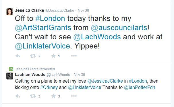 jessica clark love tweet