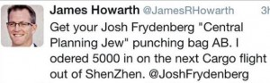 howarth tweet