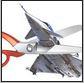 plane scissors