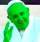 pope green trimmed