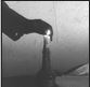 candle snuffed