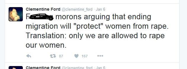 clem rape tweet cleaned up