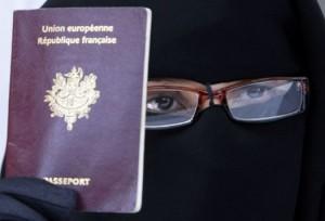 burqa passport