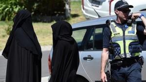 cop and burqas
