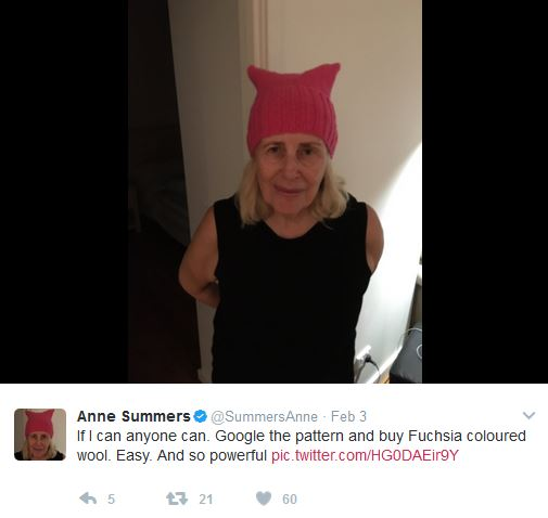anne summers pussy hat