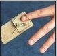 moustrap finger