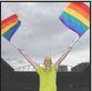 rainbow goal umpire