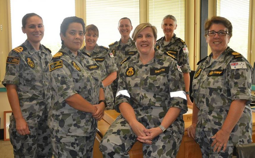 hmas albatross senior officers