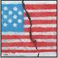 split US flag