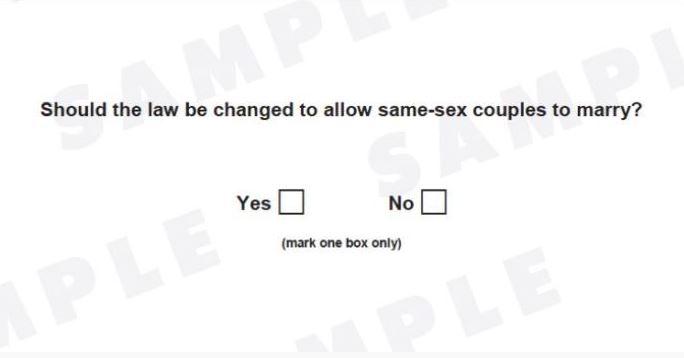 gay ballot