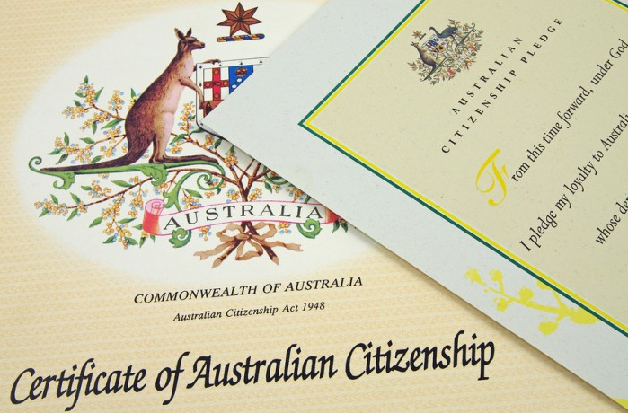 citizenship papers
