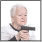 granny with a gun