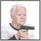 granny with a gun