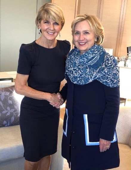 julie and hillary