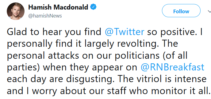 mcdonald tweet