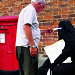 burka pillar box