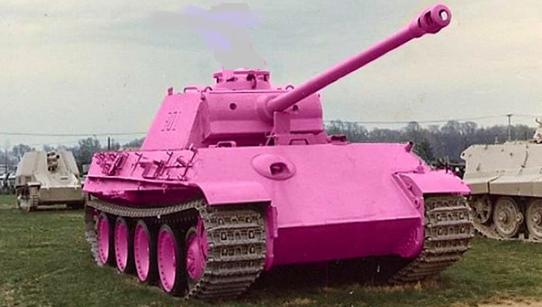 pink panzer II