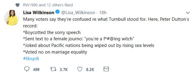 wilkinson tweet